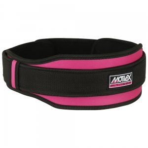 Ladies Weight Lifting Belt Pink 2